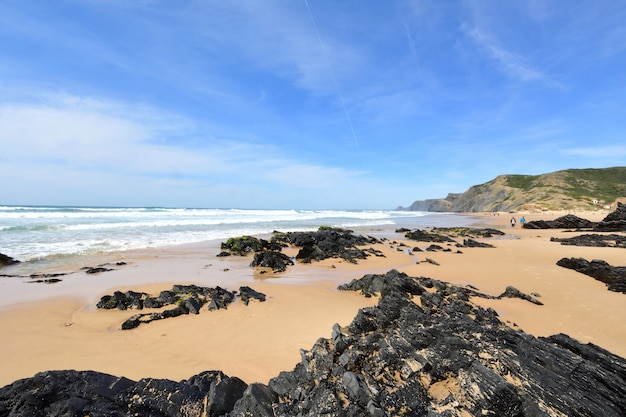 Cordoamaビーチ、vila do bispo、アルガルヴェ、ポルトガル