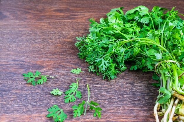 Coriander herb for health