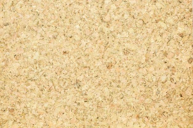 Cork board wood surface