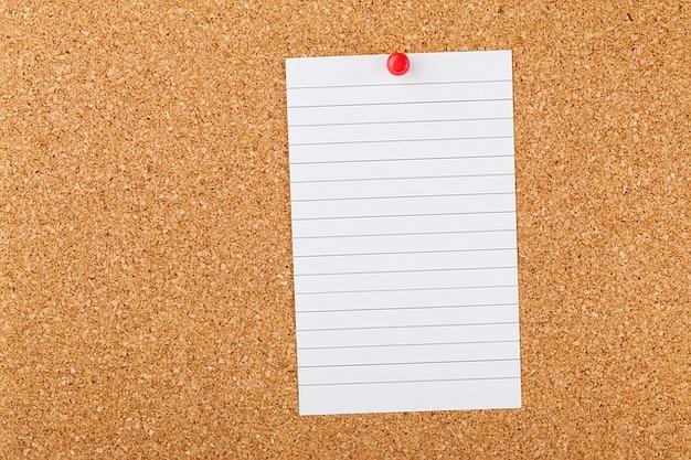 Cork business board empty blank corkboard