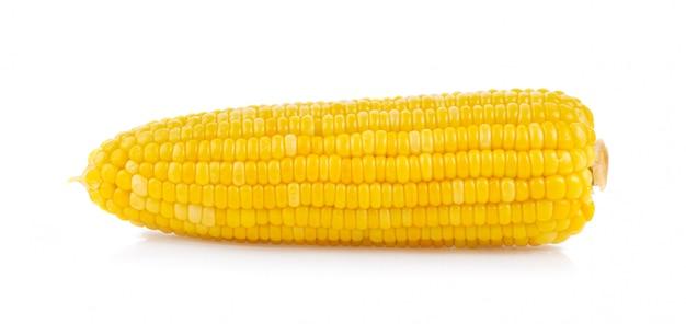 分離されたトウモロコシの穂軸