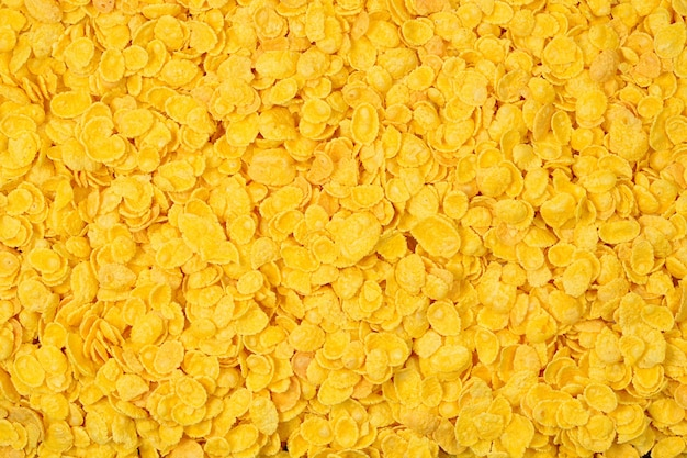 Corn-flakes background and texture