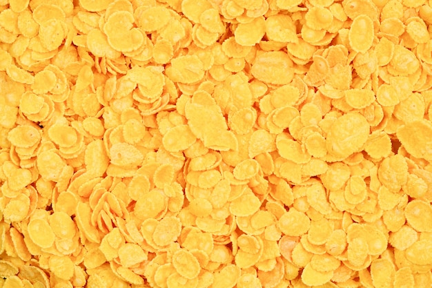 Corn-flakes surface and texture