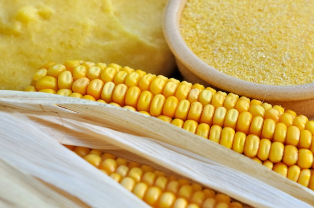 Corn flour for polenta
