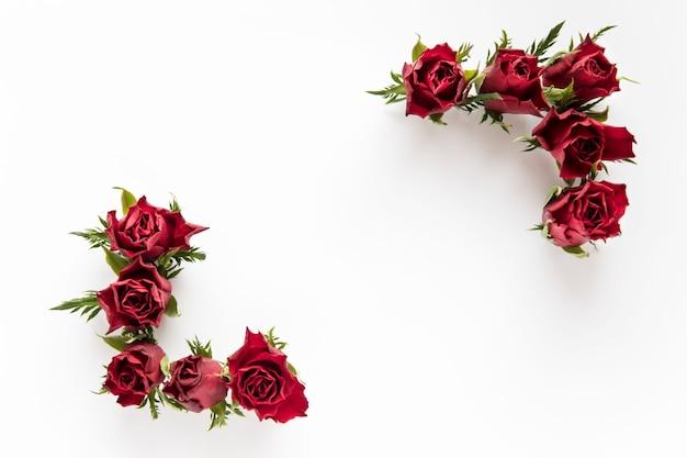 Уголки из роз Бесплатные Фотографии