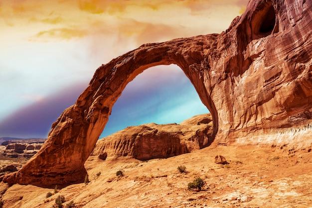Корона арка в южной части штата юта
