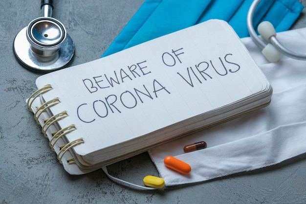 Corona virus, mysterious viral pneumonia in wuhan, china. similar to mers cov or sars virus (severe acute respiratory syndrome). health care and medical concept