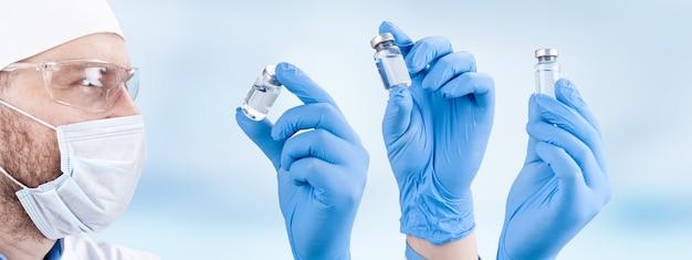 コロナウイルスアウトブレイク。エピデミックウイルス対策の概念。