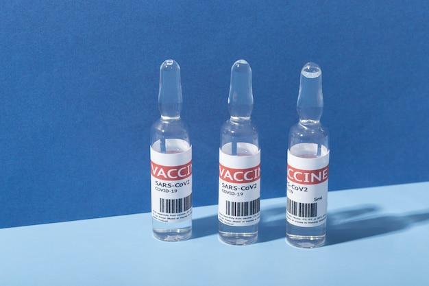 Coronavirus arrangement with vaccine recipients