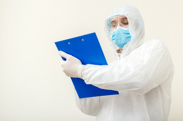 코로나 바이러스, covid-19 의사 예약. 보호 의료 소송에서 의사