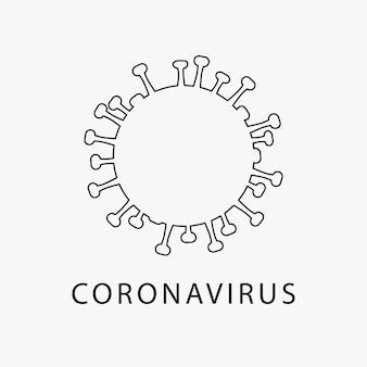 Значок коронавируса