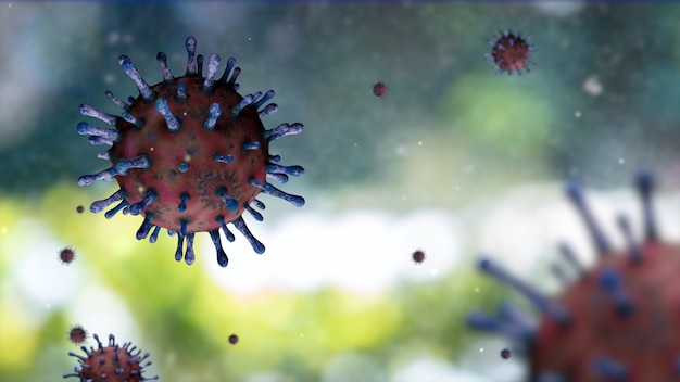 Вспышка коронавируса поразила дыхательную систему