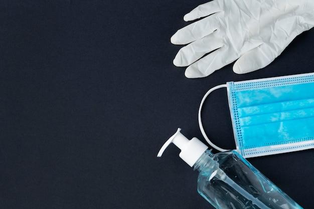 Banner sociale della pandemia di coronavirus