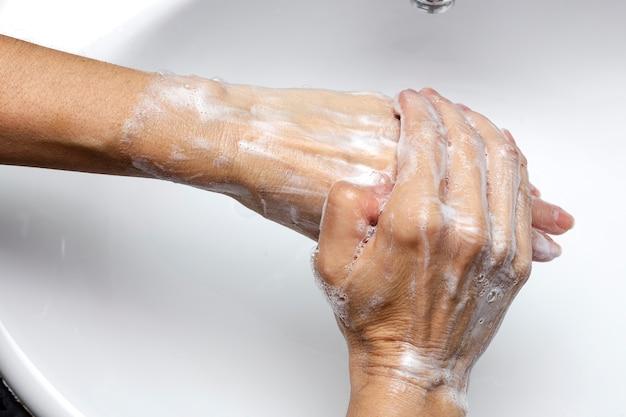 コロナウイルス予防手洗い