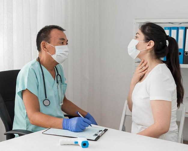 Coronavirus sample procedure
