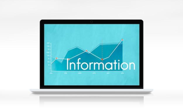 企業のビジネスライングラフレポート