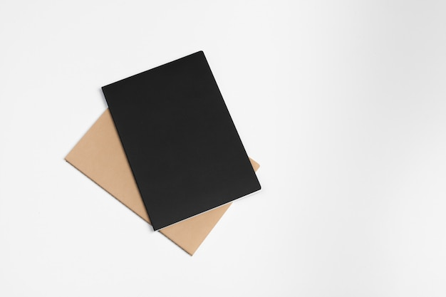 Corporate identity template, blank stationery set.