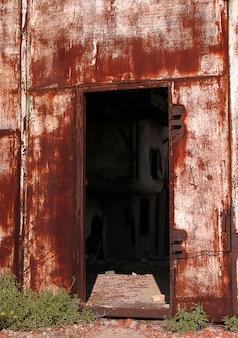 Corrosive entrance
