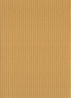 Corrugated cardboard texture surface