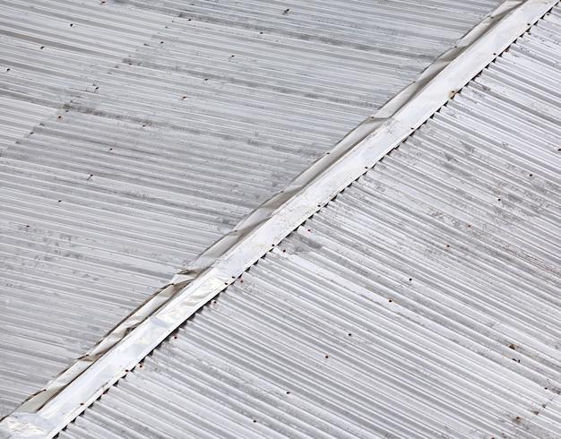 Corrugated iron background