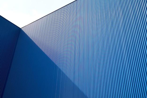 골판지 금속 시트 블루 색상