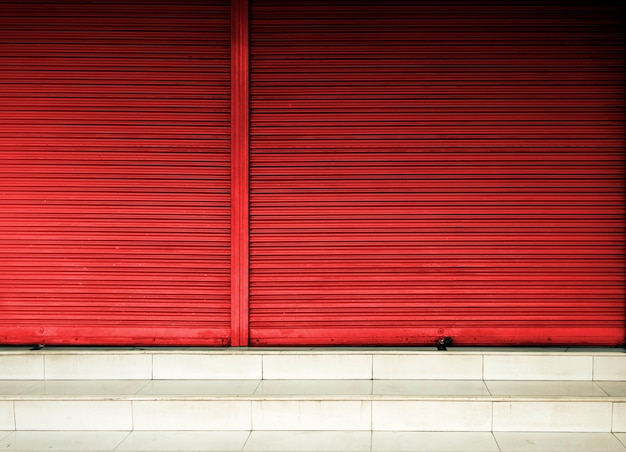Corrugated metal sheet,slide door ,roller shutter texture