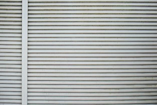 Corrugated metal sheet, slide door, roller shutter texture