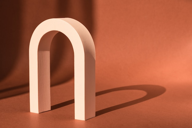 Cosmetic art deco arch display