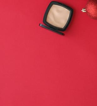 コスメティックブランディングファッションブログカバーとガーリーグラマーコンセプトメイクアップとコスメティックス製品セット...