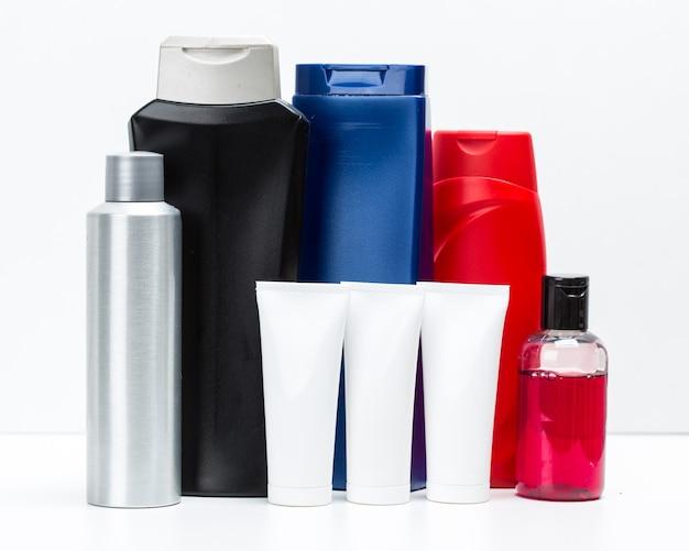 白で隔離化粧品容器