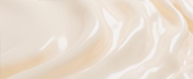 화장품 크림 배경 3d 렌더링