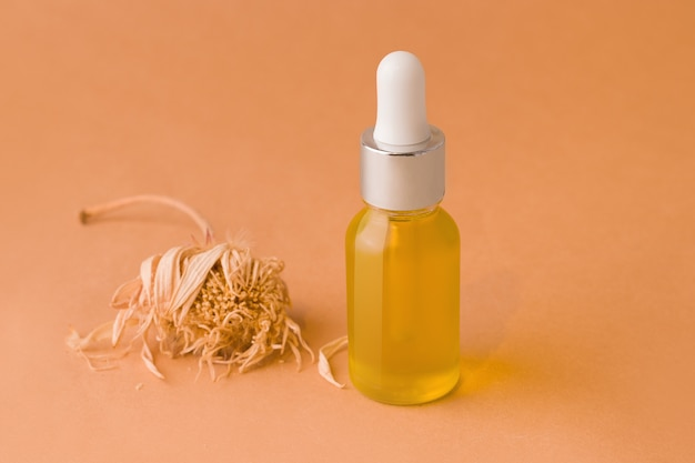 Cosmetic organic oil for face and body care