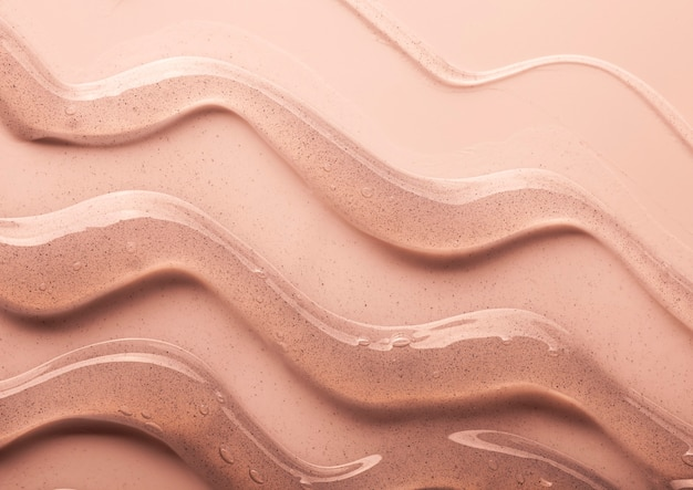 Косметический пилинг гель красоты текстуры фона