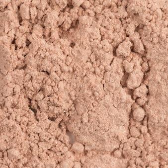 Cosmetic powder closeup