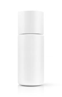 Cosmetic serum bottle isolated