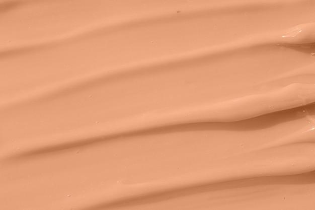 Cosmetic tonal moisturizer bb cream swatch sample beige nude liquid foundation texture concealer
