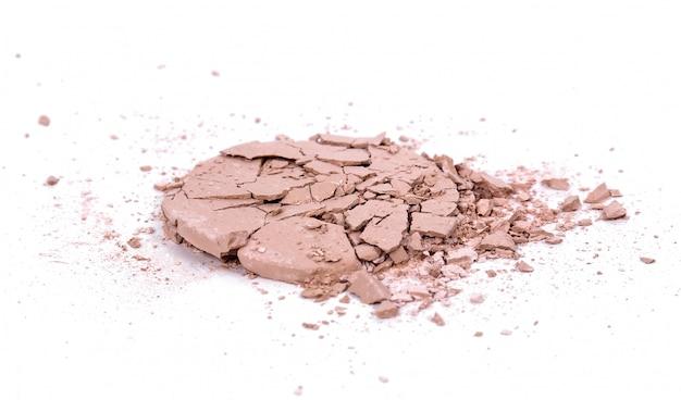Cosmetico su superficie bianca