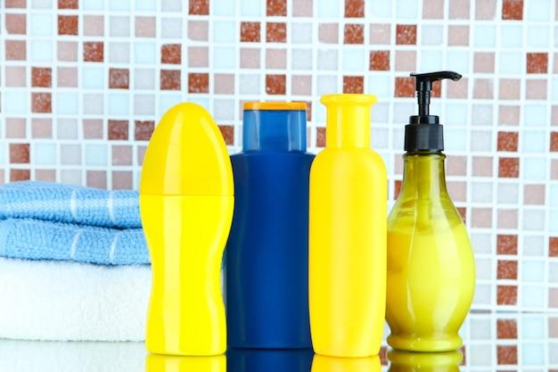 모자이크 타일의 화장품 및 목욕 액세서리