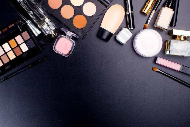 Cosmetics on dark