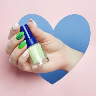 Cosmetics hand makeup