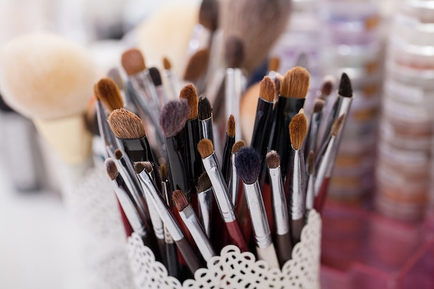 Cosmetics, make-up, beauty and freshness concept,