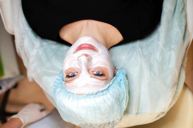 Косметология. маска для лица.
