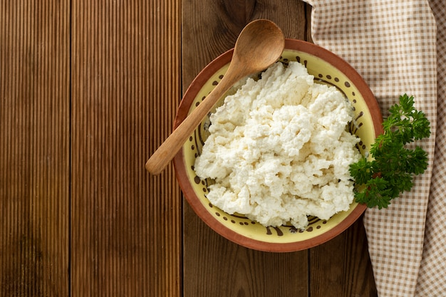 Cottage cheese. dairy products, calcium and protein.