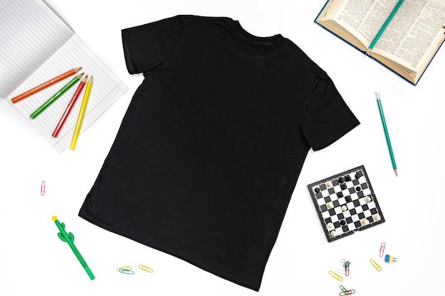 Хлопковая одежда для школы и спортивный свитер, брюки и футболка