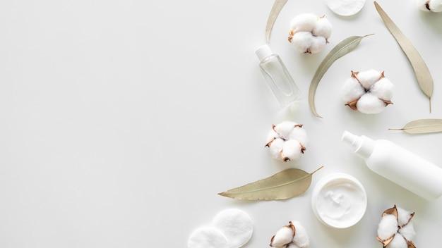 Cotton and cosmtics