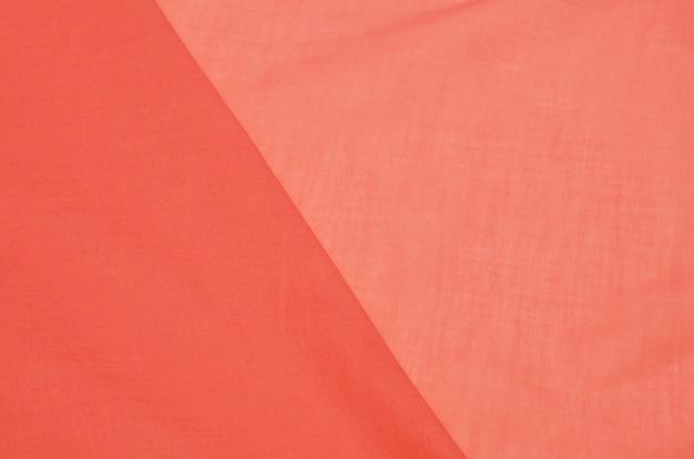 Cotton fabric batiste salmon