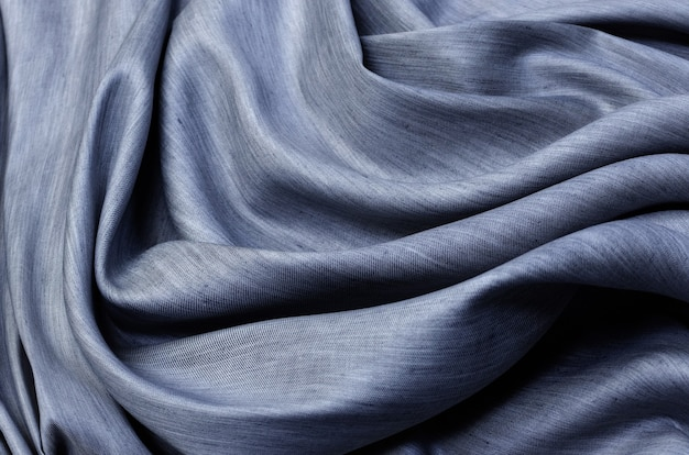 薄灰色の綿生地、シャツ、メランジ用