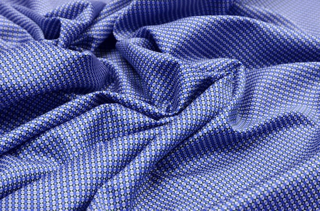 Cotton fabric with pattern