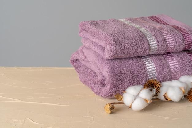 Cotton soft towels