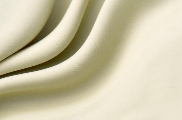 Ткань стрейч хлопок с эластаном светло-бежевый